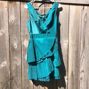 NWT Irredentist Teal Max and Cleo party dress